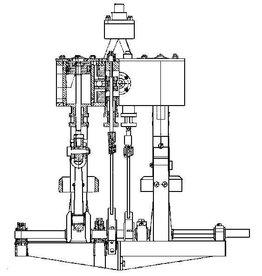 "NVM 60.01.043 2-cilinder verticale stoommachine ""Paula"""