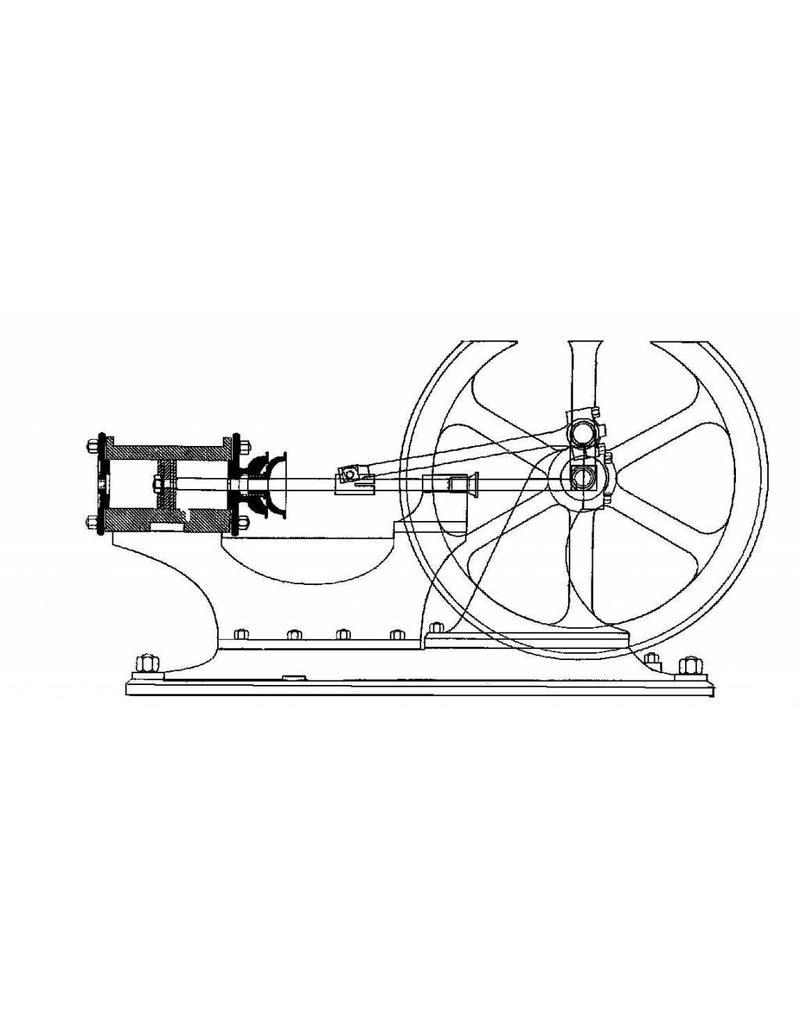"NVM 60.01.046 wandstoommachine ""Eliane"", van Otto Lilienthal (1882)"