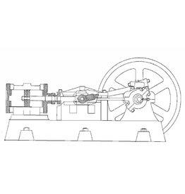 NVM 60.01.050 horizontale stoommachine Oda