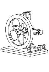 NVM 60.01.051 CD-Plus Four; 4-cilinder oscillerende stoommachine
