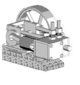 NVM 60.01.055/A CD-1-cilinder horizontale stoommachine