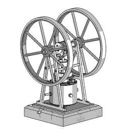 NVM 60.01.059 CD - Experimentele stoommachine met ringvormige schuif