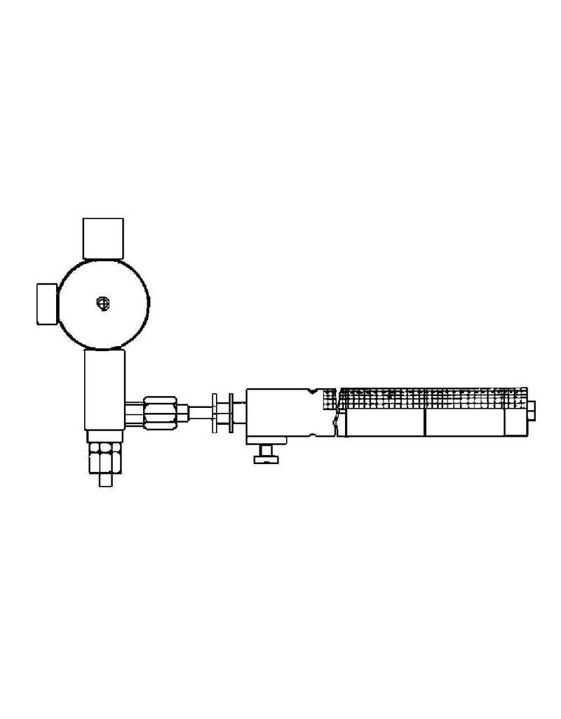 NVM 60.03.006 gasbrander voor Mamod stoomlocomotief