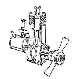 NVM 60.10.001 benzinemotor BB 8,4