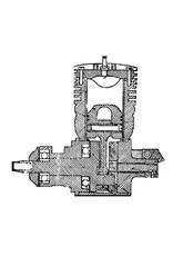 NVM 60.10.002 2-takt benzinemotor 15 cc