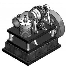 NVM 60.10.014 Viertaktmotor met roterende schuiven