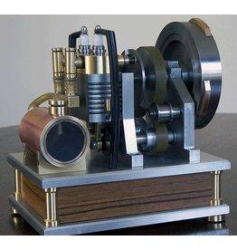 """NVM 60.10.017 2-cilinder 4-taktmotor met roterende klep """"RoDuBellkeIris"""""""