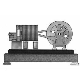 NVM 60.12.017 Duo-vlamhapper met inwendige schuiven