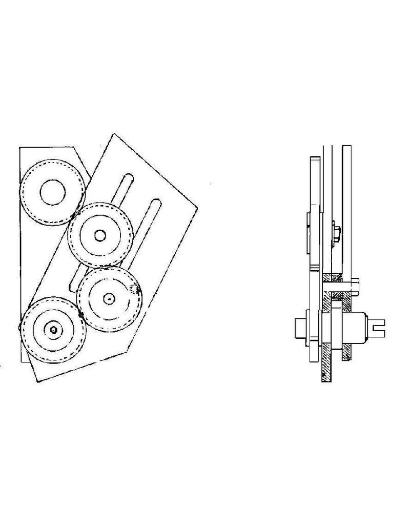 NVM 80.00.008 Inrichting voor draadsnijden op Unimat-3