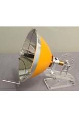 NVM Thermo-akoestische Stirlingmotor op zonnewarmte