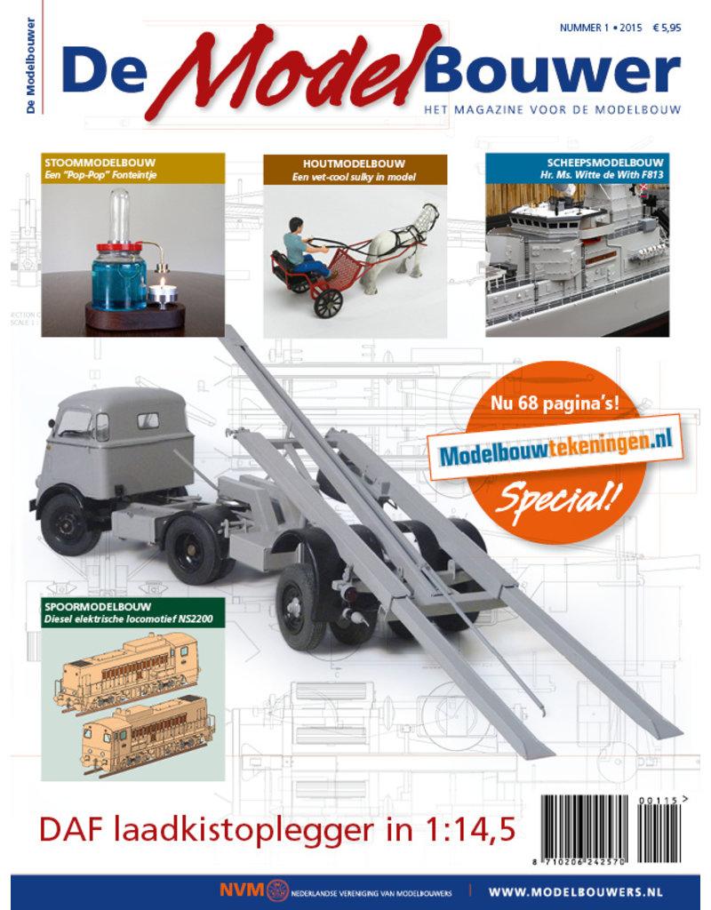 """NVM 95.15.001 Jaargang """"De Modelbouwer"""" Editie : 15.001  (PDF)"""
