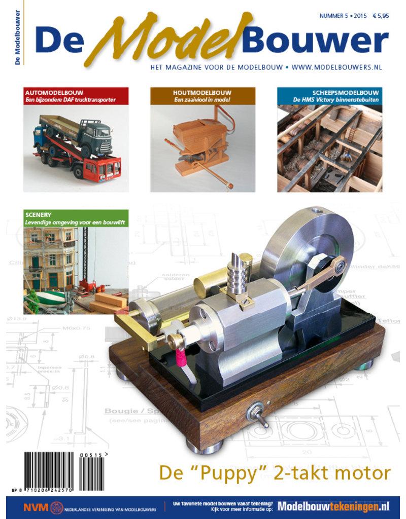 """NVM 95.15.006 Jaargang """"De Modelbouwer"""" Editie : 15.006  (PDF)"""