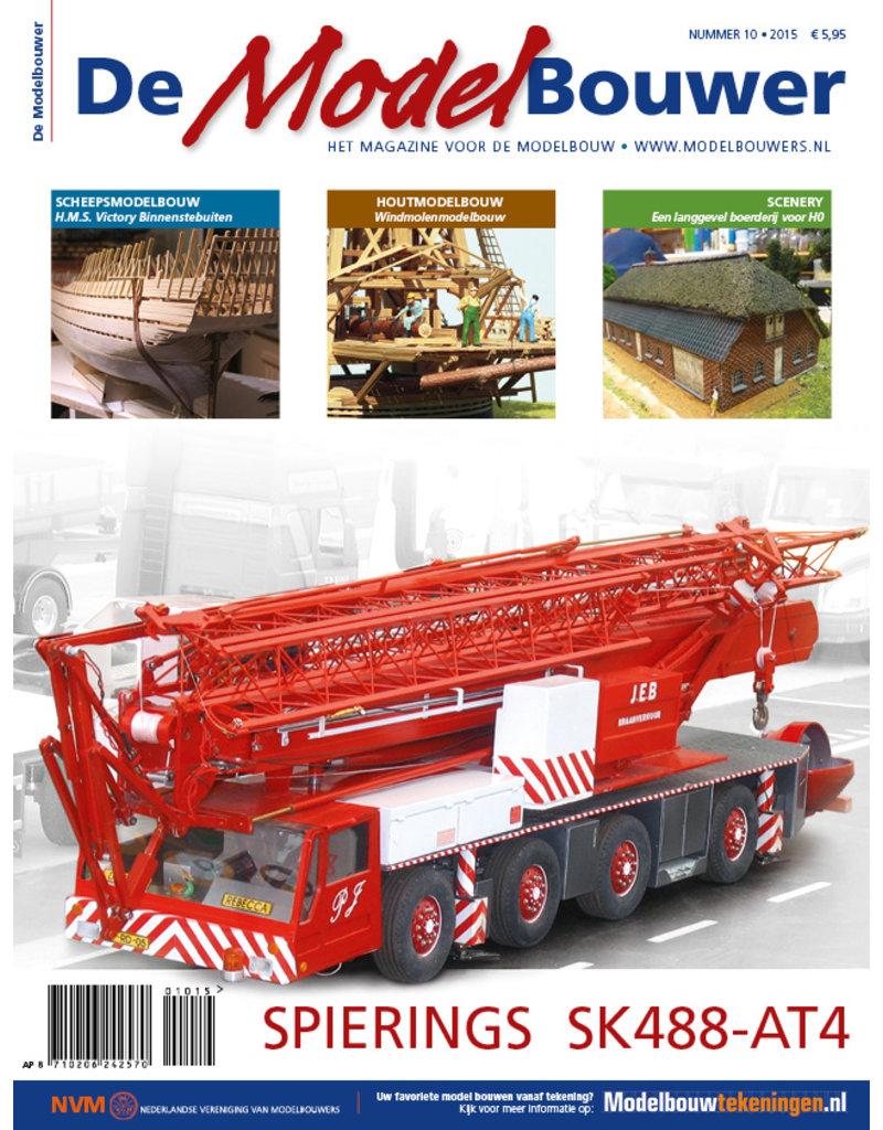 """NVM 95.15.010 Jaargang """"De Modelbouwer"""" Editie : 15.010  (PDF)"""