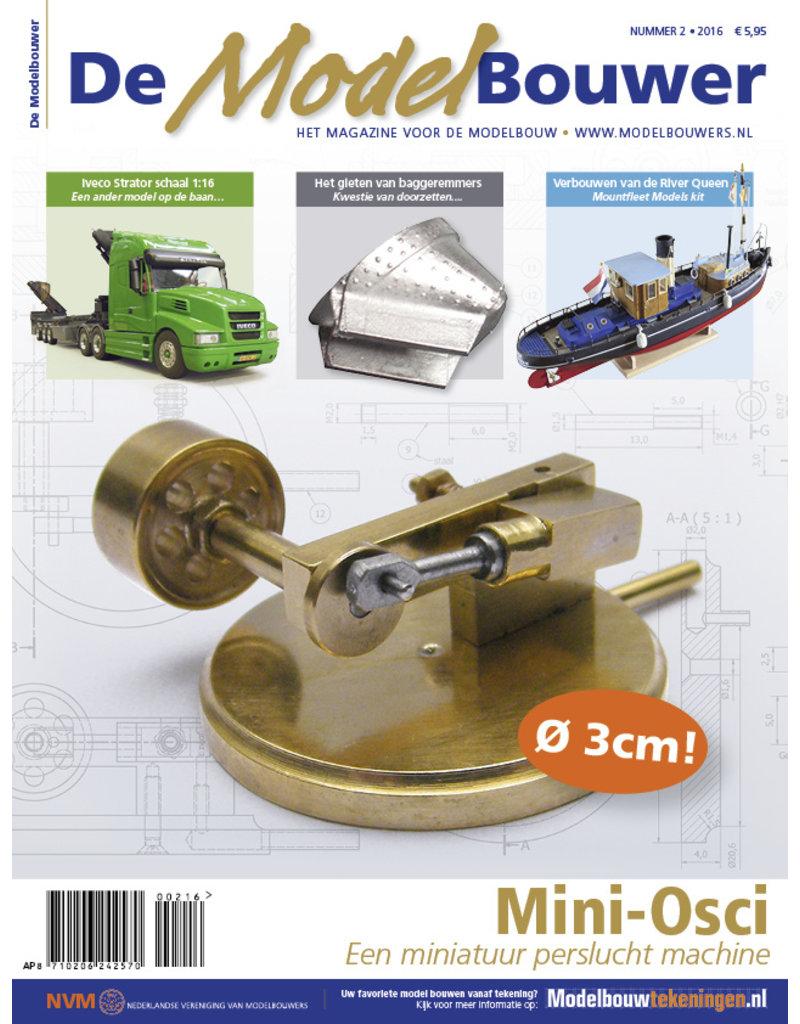 """NVM 95.16.002 Jaargang """"De Modelbouwer"""" Editie : 16.002"""