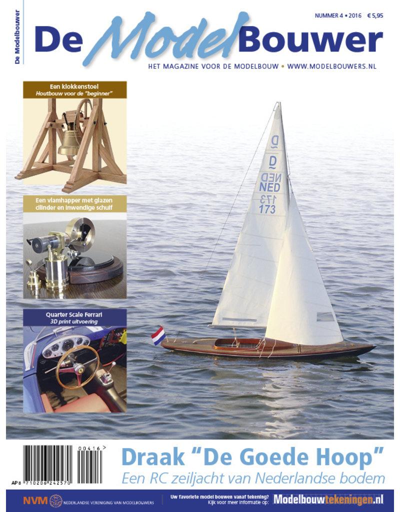 """NVM 95.16.004 Jaargang """"De Modelbouwer"""" Editie : 16.004  (PDF)"""
