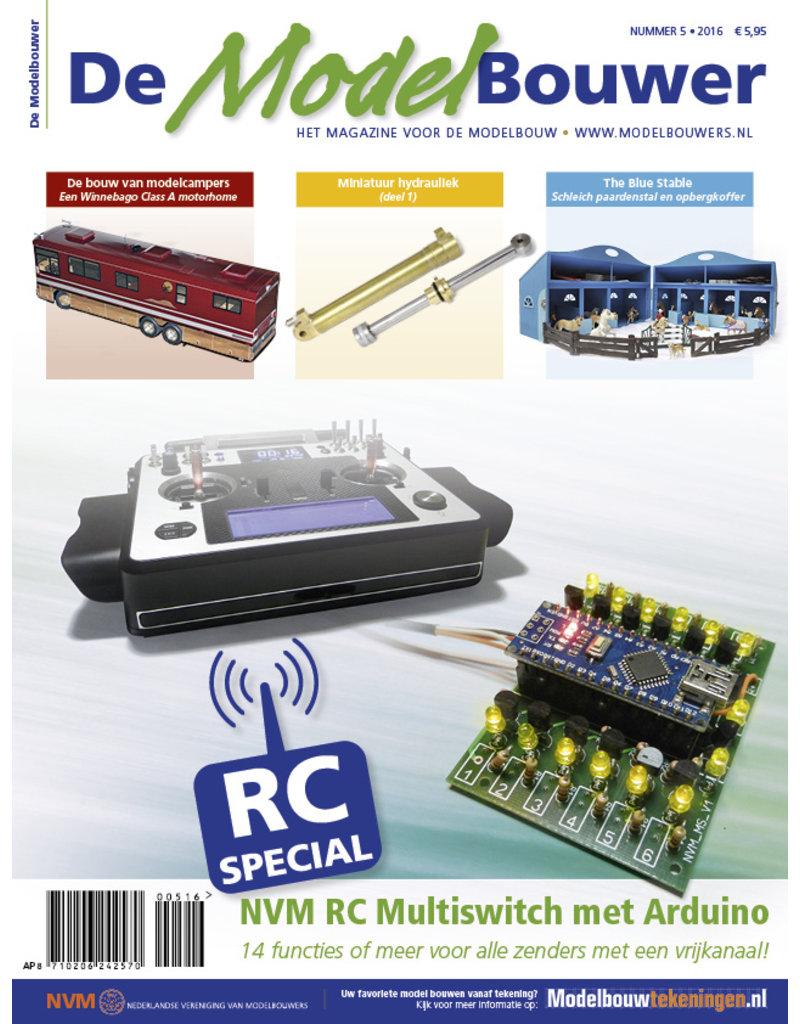 """NVM 95.16.005 Jaargang """"De Modelbouwer"""" Editie : 16.005  (PDF)"""