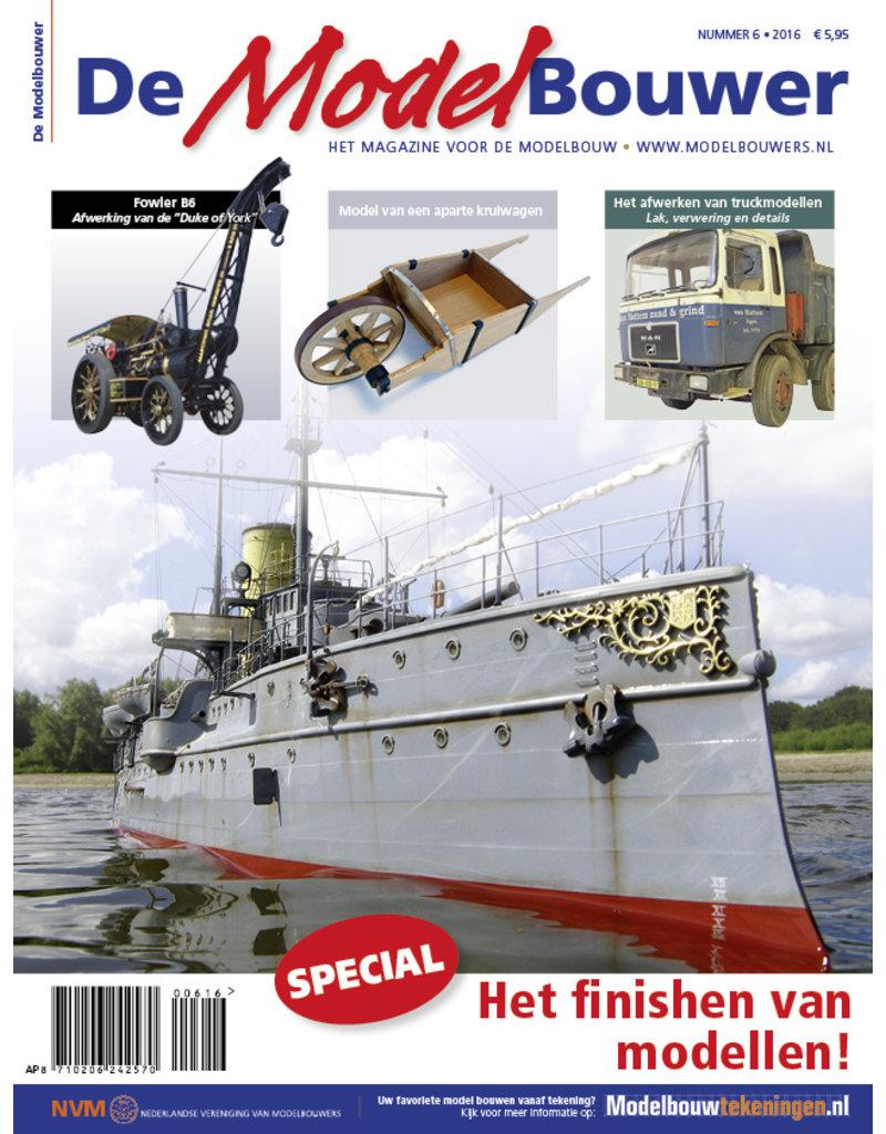 """NVM 95.16.006 Jaargang """"De Modelbouwer"""" Editie : 16.006  (PDF)"""