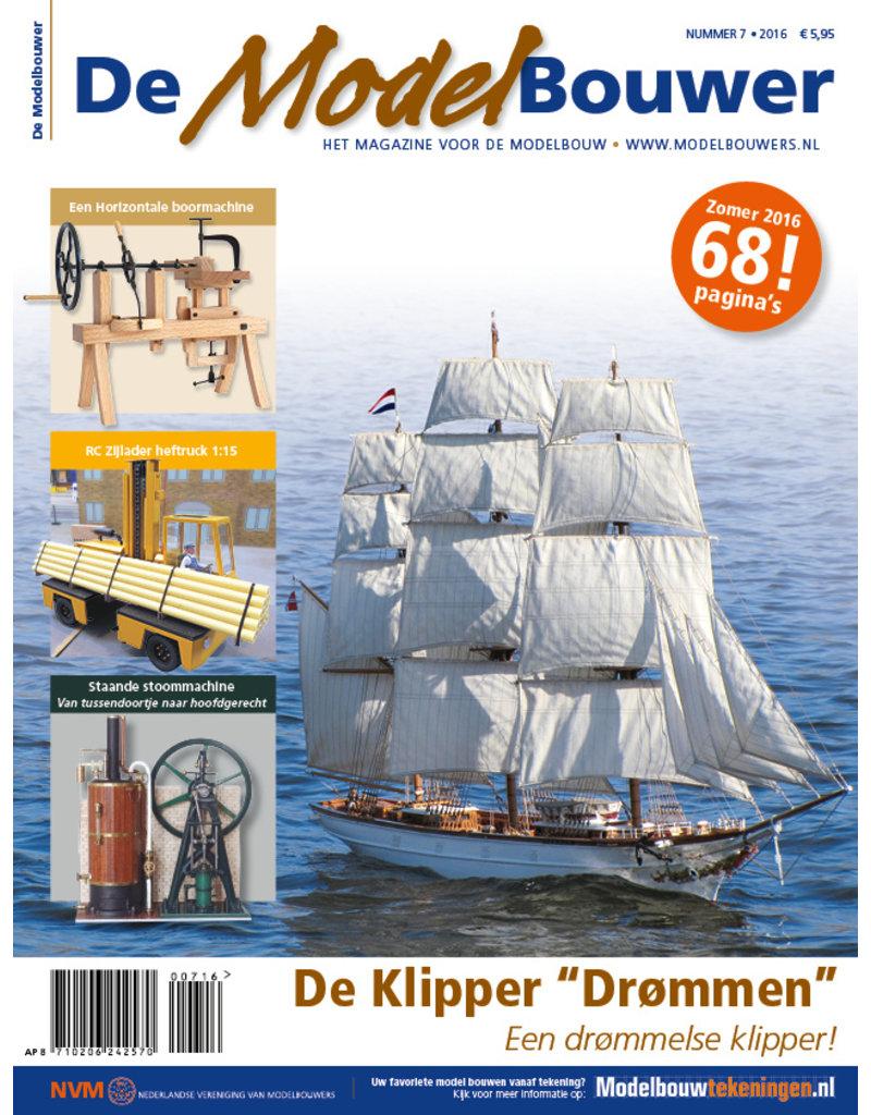 """NVM 95.16.007 Jaargang """"De Modelbouwer"""" Editie : 16.007  (PDF)"""