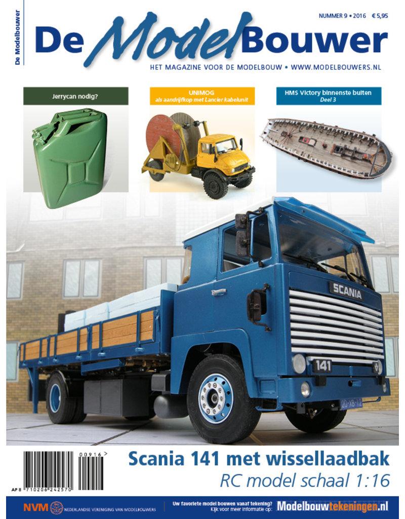 """NVM 95.16.009 Jaargang """"De Modelbouwer"""" Editie : 16.009  (PDF)"""