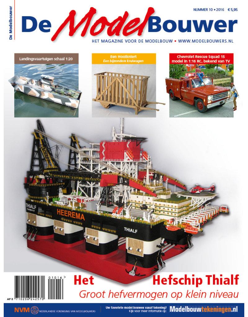"""NVM 95.16.010 Jaargang """"De Modelbouwer"""" Editie : 16.010"""