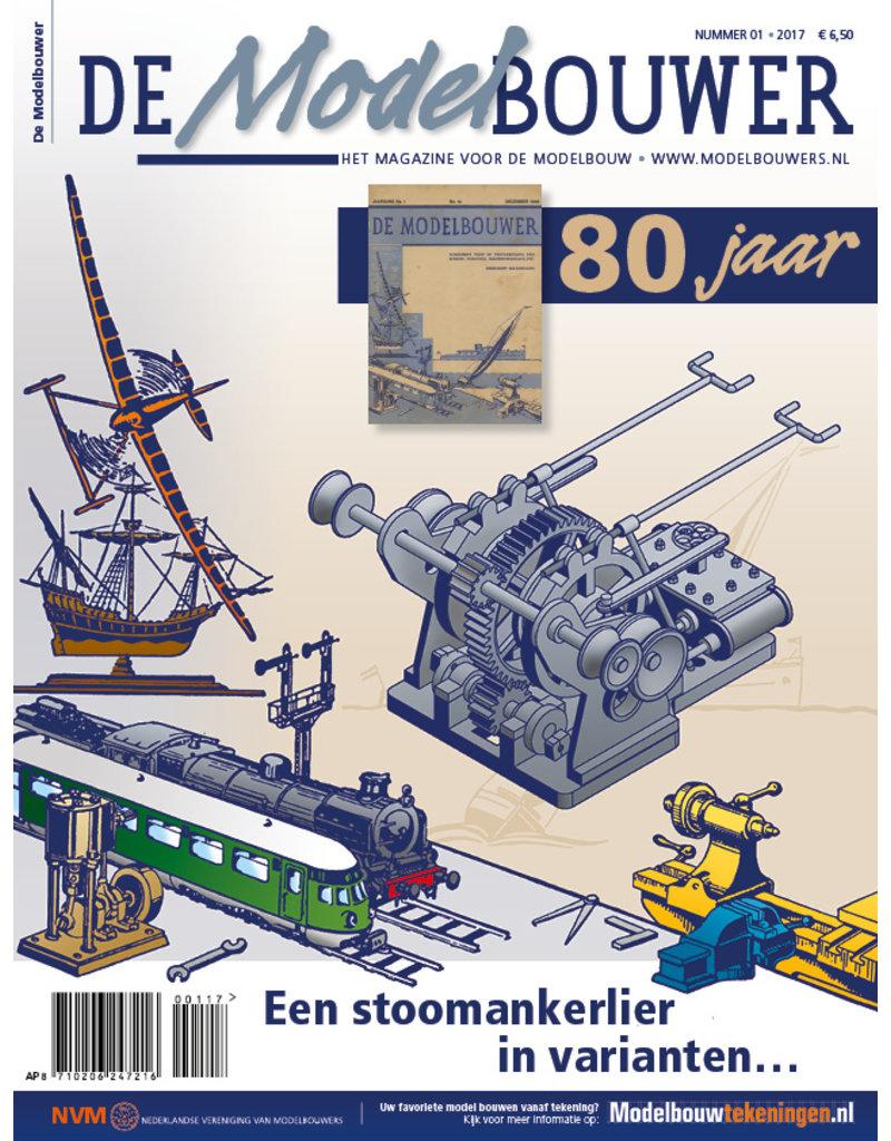 """NVM 95.17.001 Jaargang """"De Modelbouwer"""" Editie : 17.001  (PDF)"""
