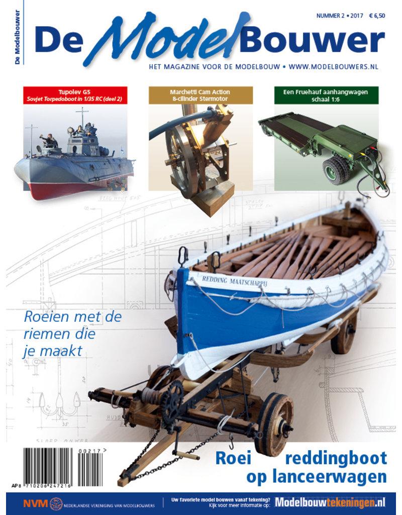 """NVM 95.17.002 Jaargang """"De Modelbouwer"""" Editie : 17.002  (PDF)"""