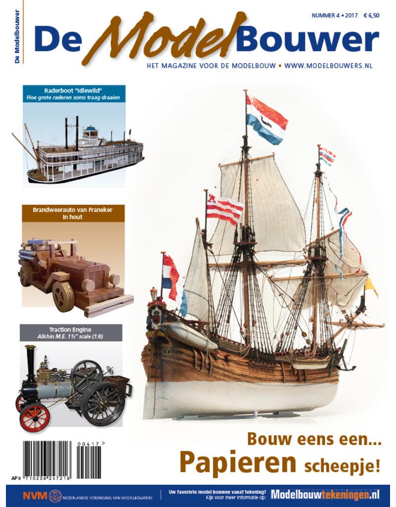 """NVM 95.17.004 Jaargang """"De Modelbouwer"""" Editie : 17.004  (PDF)"""