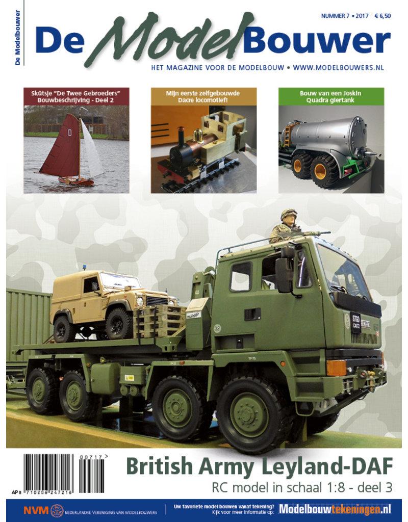 """NVM 95.17.007 Jaargang """"De Modelbouwer"""" Editie : 17.007  (PDF)"""