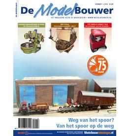 """NVM 95.18.001 Jaargang """"De Modelbouwer"""" Editie : 18.001   (PDF)"""