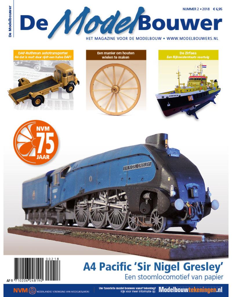 """NVM 95.18.002 Jaargang """"De Modelbouwer"""" Editie : 18.002  (PDF)"""