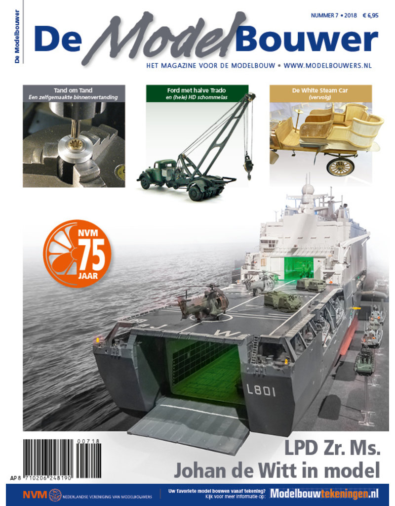"""NVM 95.18.007 Jaargang """"De Modelbouwer"""" Editie : 18.007"""