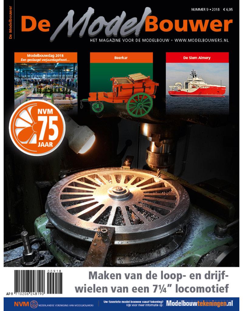 """NVM 95.18.009 Jaargang """"De Modelbouwer"""" Editie : 18.009"""