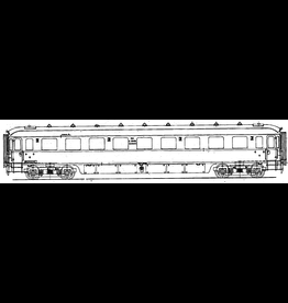 NVM 29.05.037 NS Doorgangsrijtuig 3e kl C7801 - 7840 voor spoor 0