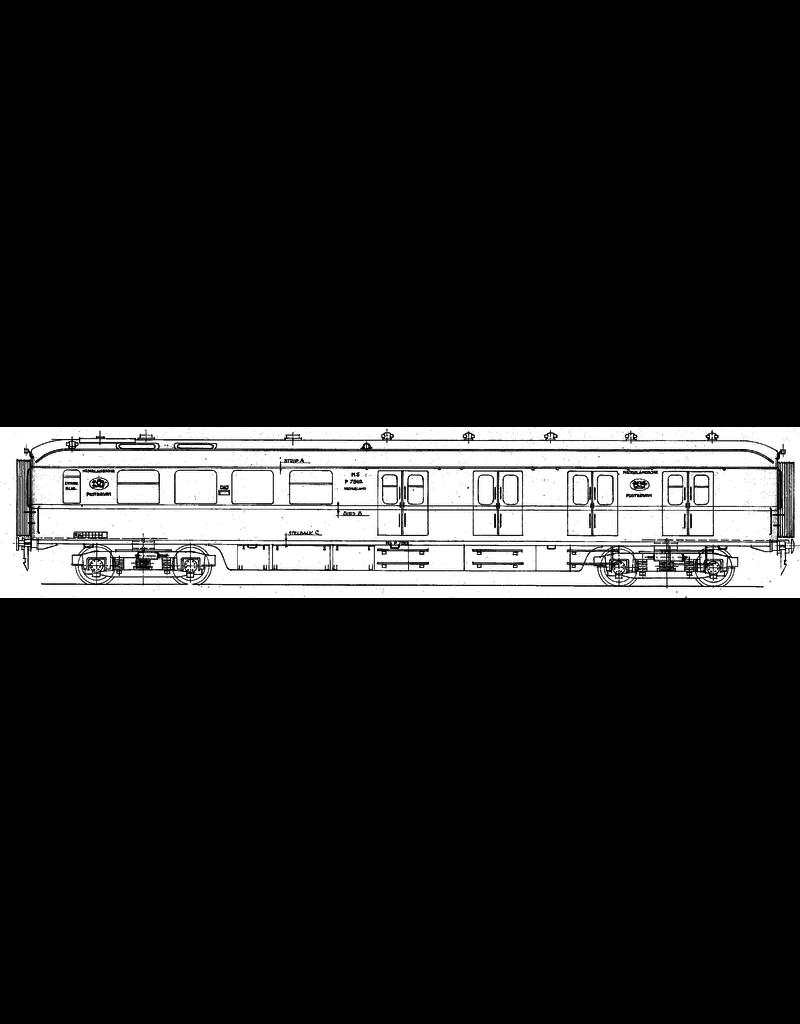 NVM 29.05.038 NS Postrijtuig P7911 - 7920 voor spoor O