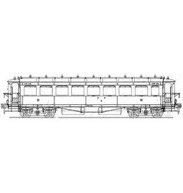 NVM 29.05.132.1 HSM Doorgangsrijtuig 3e klasse 1101 - 11-8 (NS C8010-8017) voor spoor 0