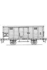 NVM 29.06.081 NS gesloten goederenwagen serie 7802-9478 voor spoor 0