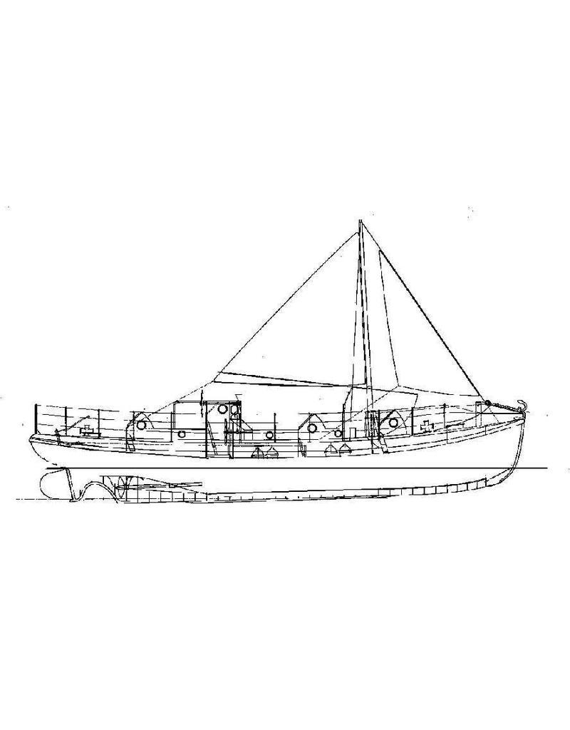 "NVM 10.17.004 motorreddingboot ""Koningin.Wilhelmina"" (1927) - ZHMRS"