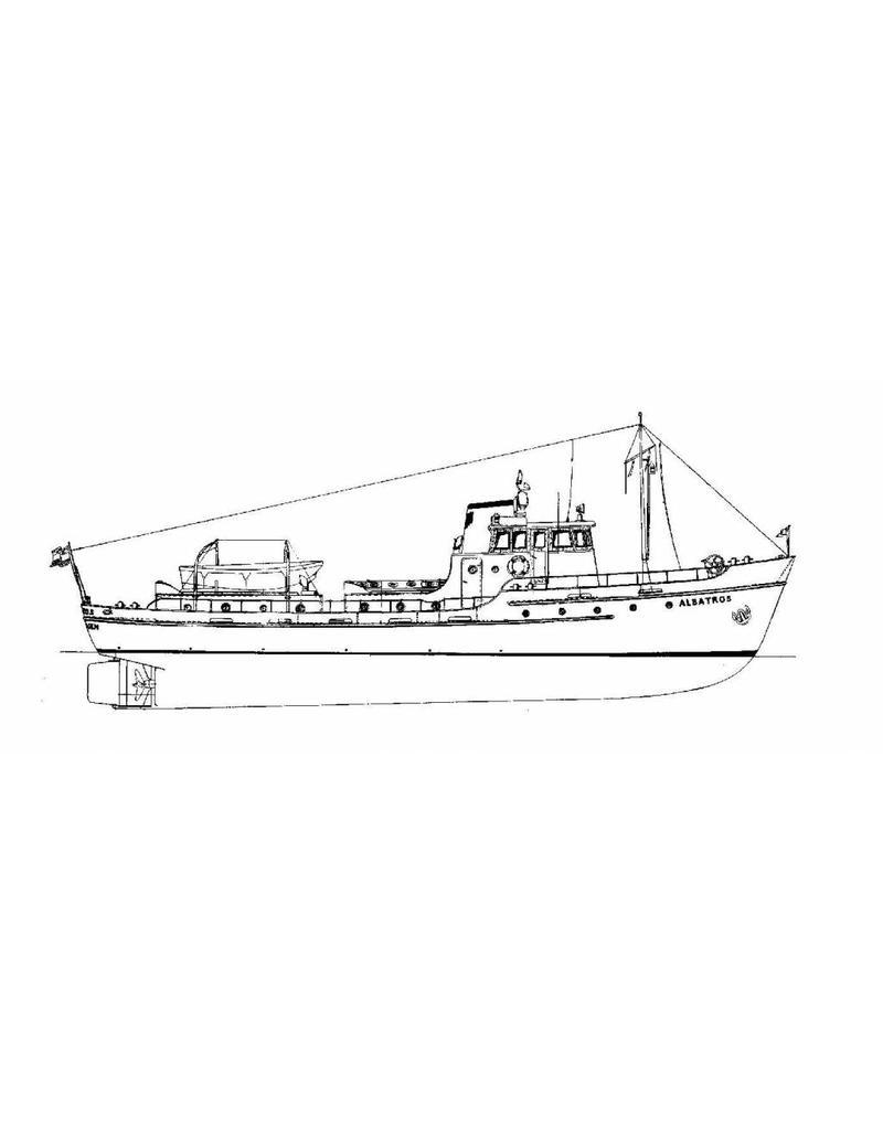 """NVM 10.18.006 douanerecherchevaartuig """"Albatros"""" (1954)"""
