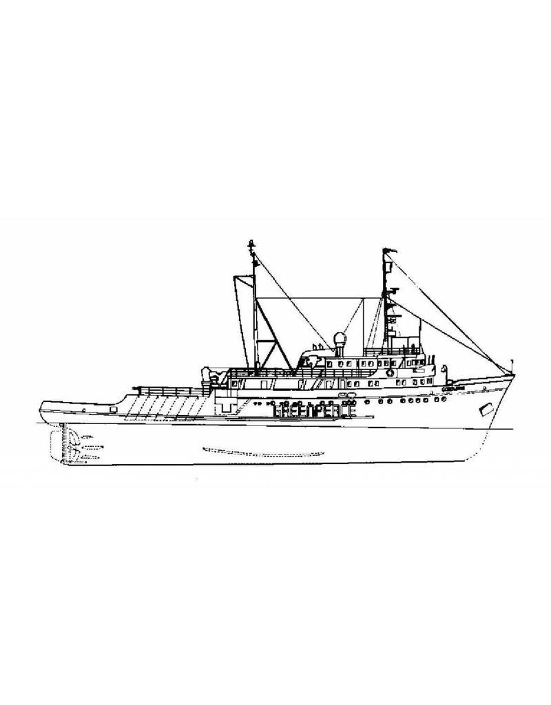 "NVM 10.18.011 ms ""Gondwana"" (1985) - Greenpeace; ex loodsboot ""Maryland""(1976) - ex slpb ""Elbe"" (1959)"