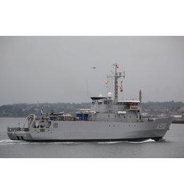 """NVM 10.20.007 HrMs torpedowerkschip """"Mercuur"""" A900 (1987)"""