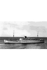 "NVM 10.20.024 vracht-passagiersschip ms ""Tegelberg"" (1937), ""Ruys"", ""Boissevain"" - KJCPL"