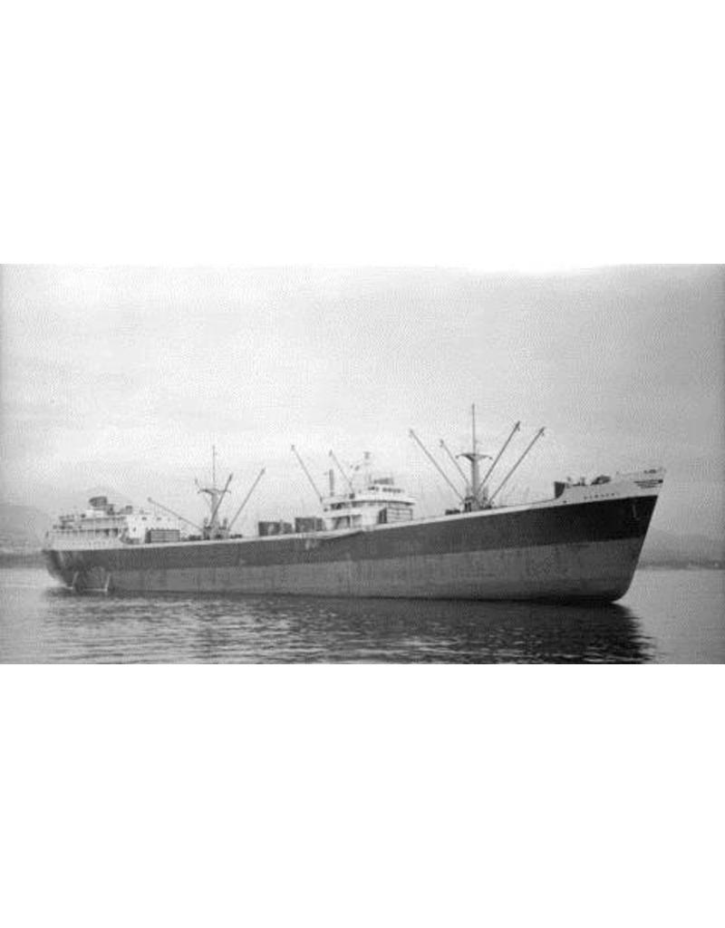 "NVM 10.20.080 vrachtschip ms "" Romanby"" (1957) - Ropner Shipping Co."