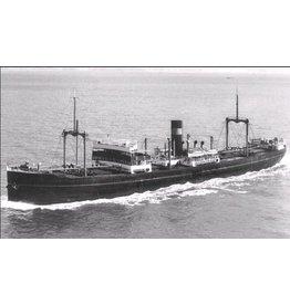 """NVM 10.20.094 vrachtschip ss """"Aalsum"""" (1922) - Mij. Oostzee"""