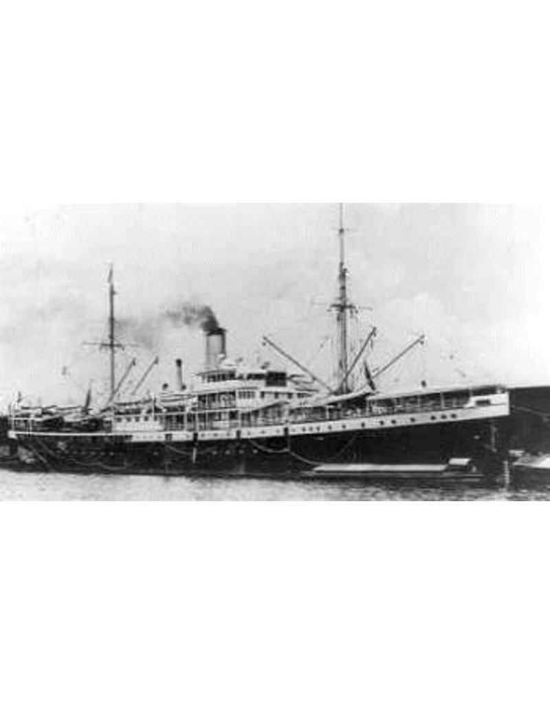 """NVM 10.20.103 vrachtpass. ss """"Sloet van de Beele"""" (1914) - KPM"""