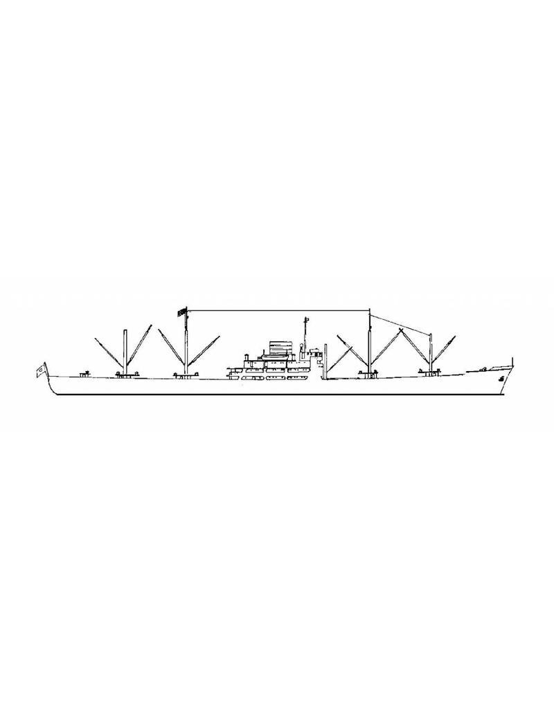 "NVM 10.20.053 vrachtschip ms ""Sagami Maru"" (1954) - NYK"