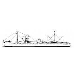 """NVM 10.20.090 vrachtschip ss """"Ootmarsum""""- Mij. Oostzee"""