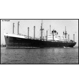"NVM 16.10.017 vrachtschip ss ""Radja"", ""Roepat"", ""Rondo"", ""Rotti"" (1946) - SMN - Nedlloyd (C3 type)"