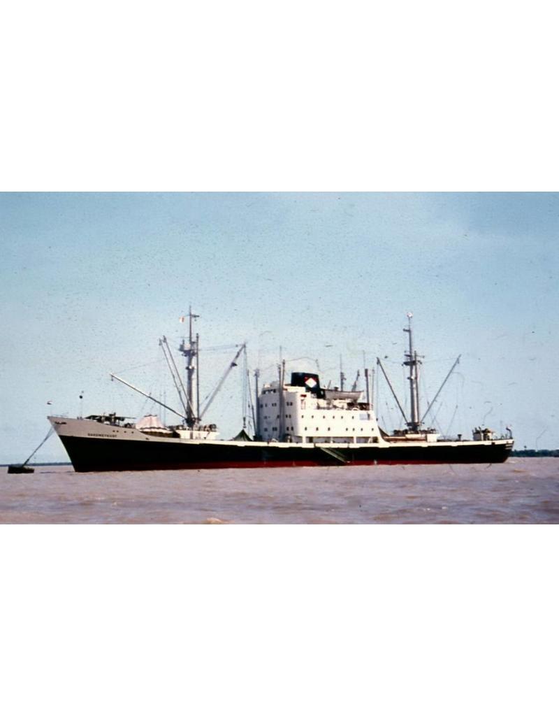 "NVM 16.10.018 vrachtschip ms ""Dahomeykust"" (1959) - VNS/HWAL - Nedlloyd"