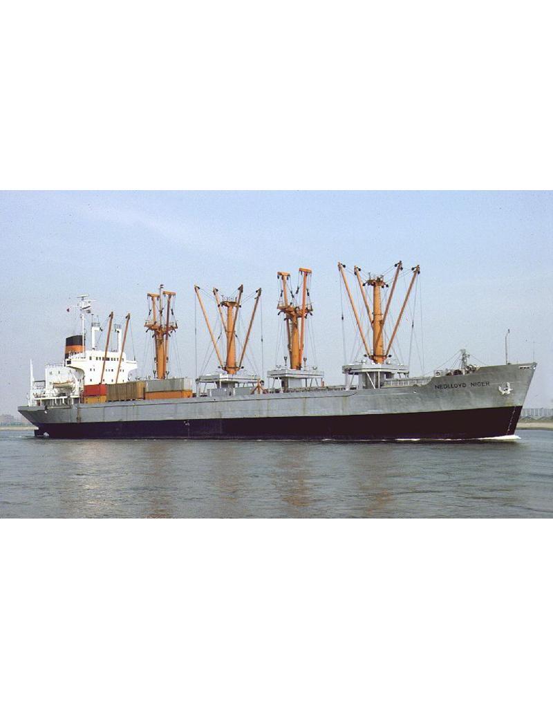 """NVM 16.10.026 vrachtschip ms """"Nedlloyd Niger"""", """"Nile"""" (1971/1972) - Nedlloyd"""