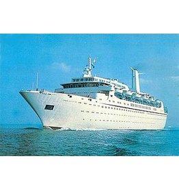 """NVM 16.10.089 pass.schip ms """"Cunard Ambassador"""" (1972), """"Cunard Adventurer"""" (1971) - Cunard"""